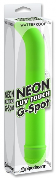 Pipedream Vibrátor NEON LUV TOUCH G SPOT green