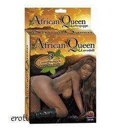 Nafukovací panna LULU AFRICKÁ KRÁLOVNA