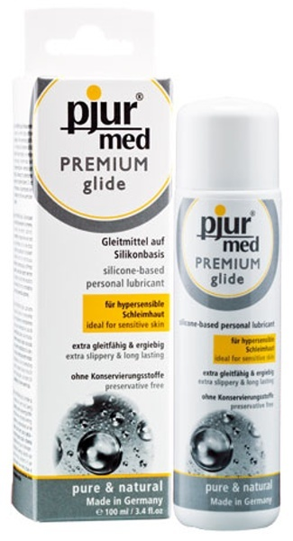 Pjur Lubrikační gel MED PREMIUM Glide 100 ml
