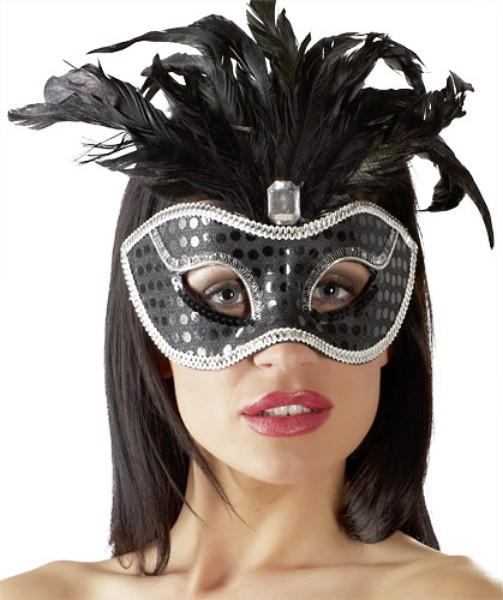 Černá sexy maska