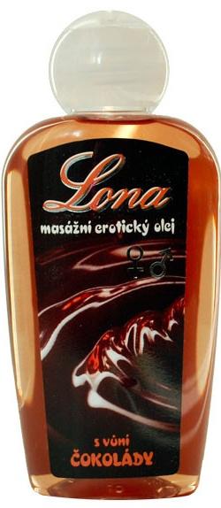 Masážní čokoládový olej 130ml