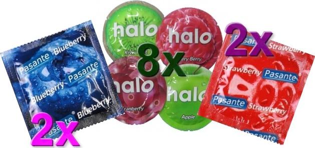 Sada kondomů 12ks