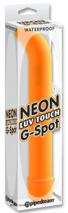 Vibrátor NEON LUV TOUCH G SPOT orange (1)